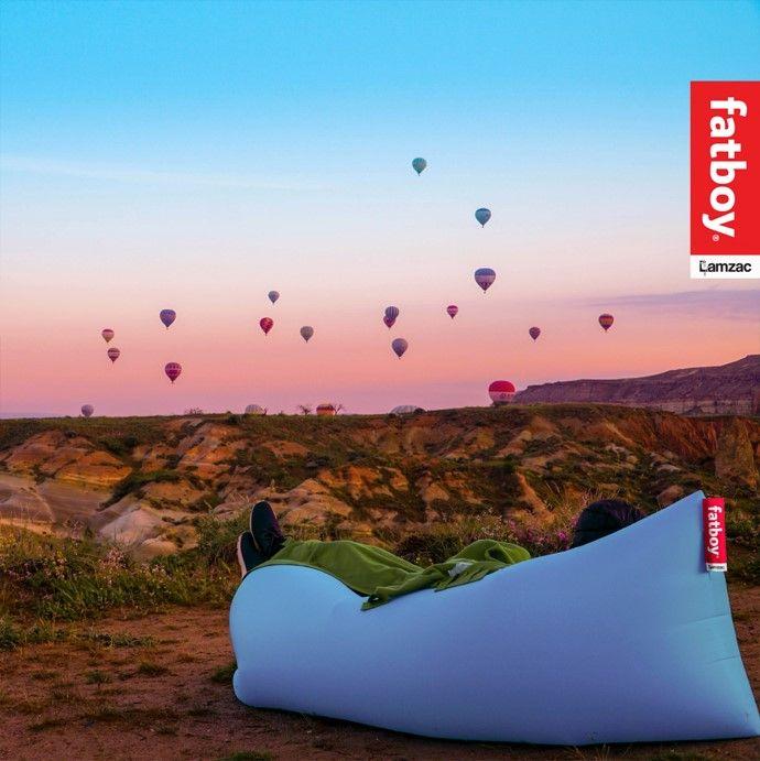 Enjoy The View Fatboyoriginal Lamzac Travel Travelgoals Air Lounger Fatboy Original Air Bean Bag