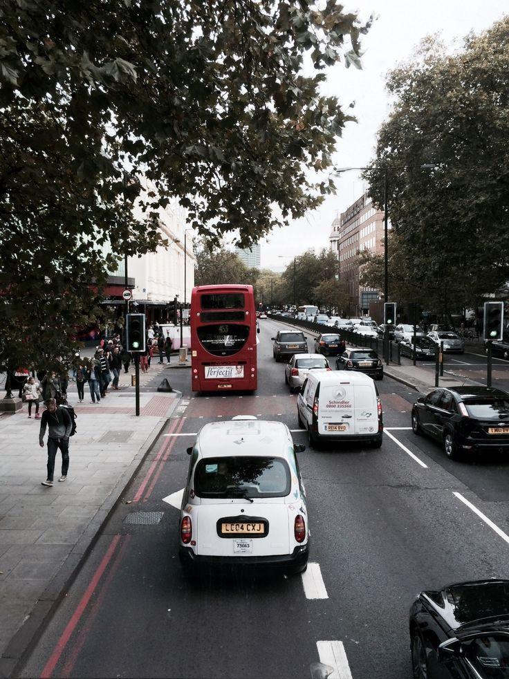 London traffic - Madame Tussauds towards Camden
