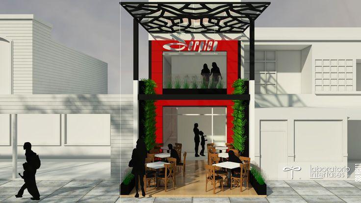 Las #fachadas del #restaurante deben representar el #concepto del mismo, llamar la atención e invitar al comensal a disfrutar.  #restaurant #design #diseño #arquitectura #architecture
