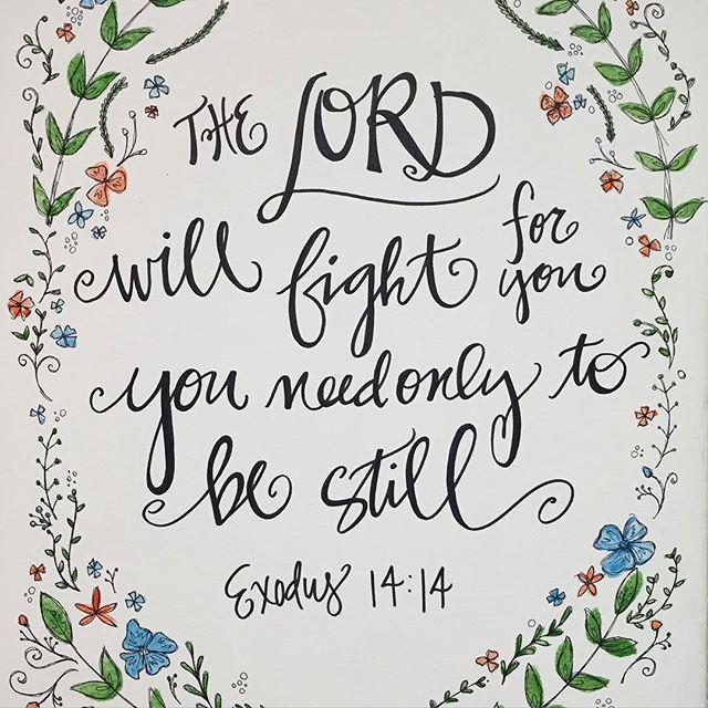 Bible Verse canvas. #handlettering #calligraphy #scripture ...