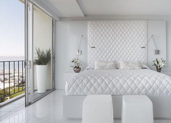 DORMITORIOS BLANCOS : Dormitorios: Fotos de dormitorios Imágenes de habitaciones y recámaras, Diseño y Decoración