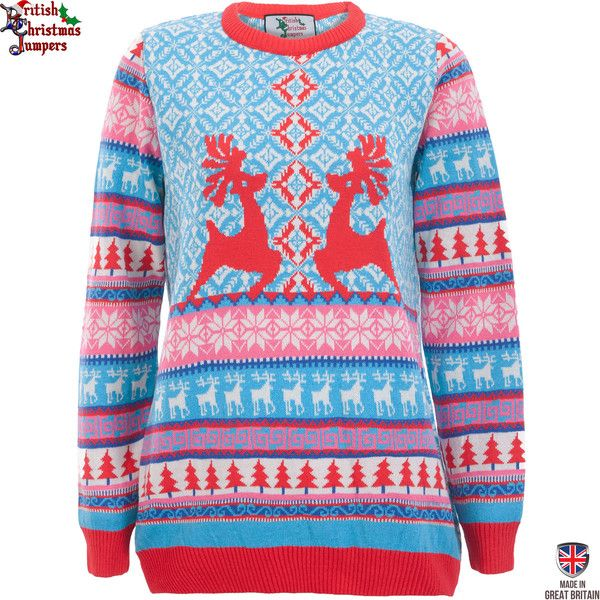 A bright and distinctive Fine Knit Christmas design for anyone who loves to look stylish and fashionable on Christmas morning. Slip this on and the festive spir