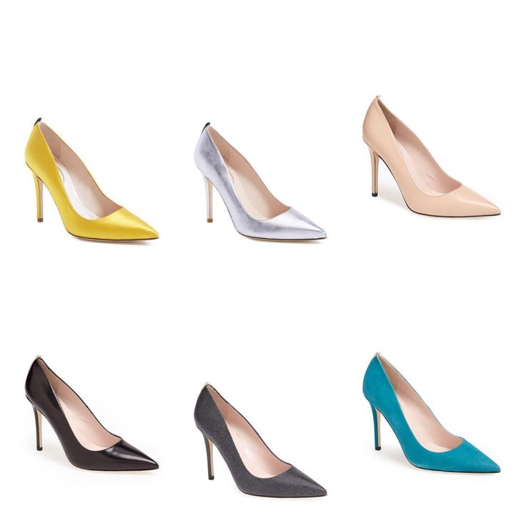 SJP Collection Fawn Pumps, which one is your favorite color?