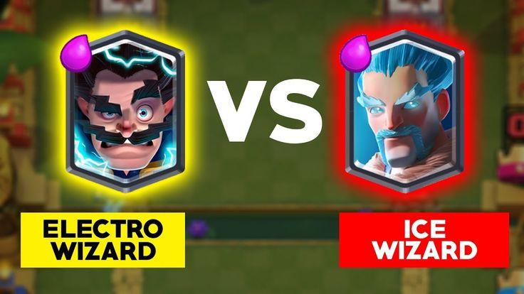 Clash Royale Battle Electro Wizard vs Ice Wizard. Clash Royale 1 on 1 Gameplay Tournament. Ice Wizard vs Electro Wizard. Clash Royale Funny Attacks Fails Moments Battle Tournament. Clash Royale Electro/Ice Wizard  Deck Card Update.    Clash Royale Battle: https://www.youtube.com/playlist?list=PL3qagk7aYt_UO4eGk2BvQHVoOCFU8Kvd8  Clash Royale Tournament: https://www.youtube.com/playlist?list=PL3qagk7aYt_VHYokbdeWY-t4HWEGxZwET  Clash Royale Official…
