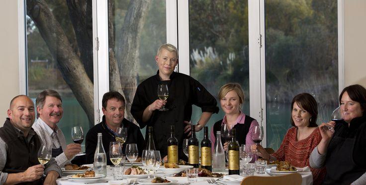 Bespoke Barossa | Catering & Cooking School - Saskia Beer with the Wolf Blass winemaking team June 2012