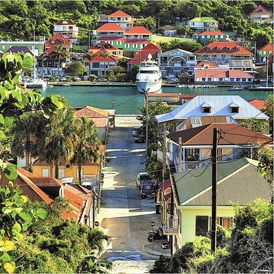 I'd never want to come back from this holiday. St. Barths, from In The Spirit of St. Barths.