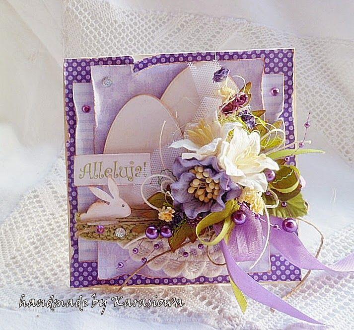Handmade by Karasiowa: Week 10 - Ribbons and Lace - DT Polkadoodles