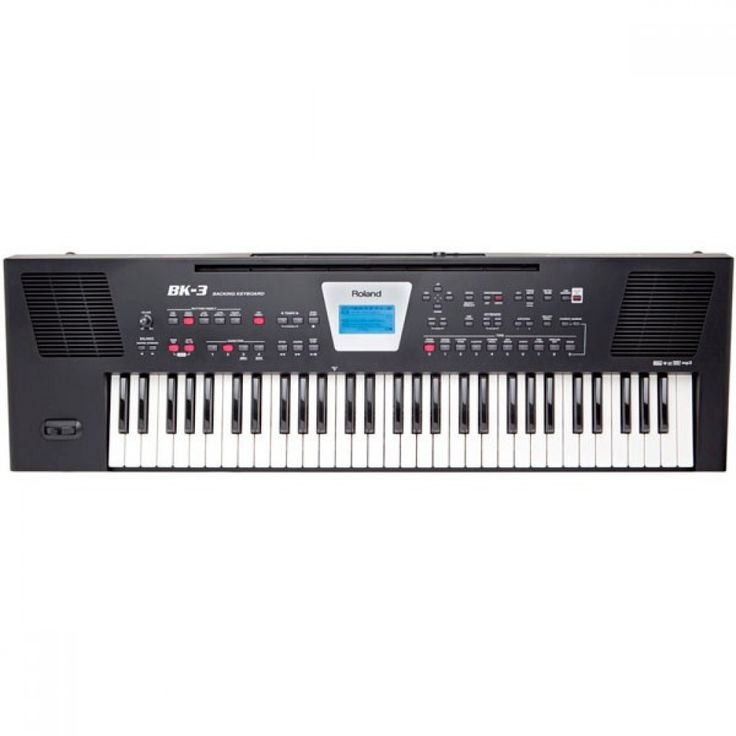 Teclado portátil Roland BK-3 Worldwide shipping #Music
