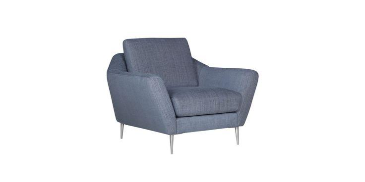 Fotel AGDA marki SITS www.euforma.pl #armchair #sits #home #livingroom #design
