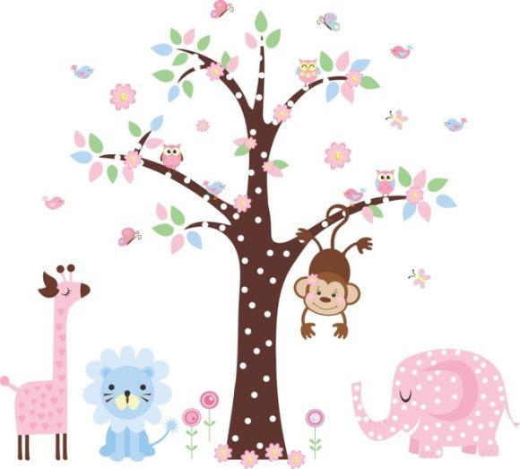 Kit Safari com Árvore - 338DE2 | ADcorista | Elo7