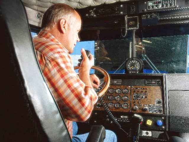 CB (or Citizens Band) radios were for communications between private citizens like truck drivers, radio-controlled plane operators, and businesses. The Citizens Band was available in 1945 and CB radios were most popular in the 1970s.