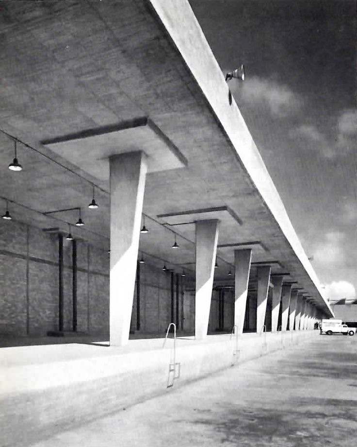 Arq. José Villagrán García - Loading dock, Slaughterhouse of Mexico City…