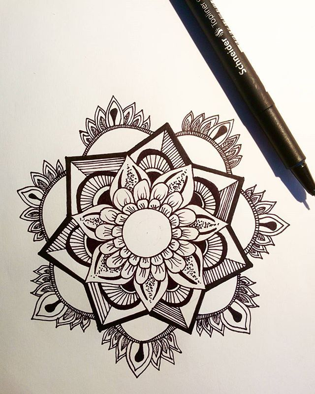 Well that was fun! I should draw mandalas more often!😁 Do you?  Share your designs with the hashtag #wemakethebestofitnow!
