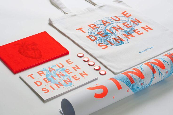 ZEICHEN & WUNDER / Kampagne und Key Visual / #Traue #deinen #Sinnen / by Zeichen & Wunder, München