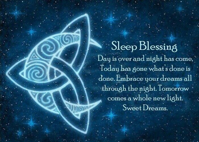 Sleep blessing by Sacred Mists