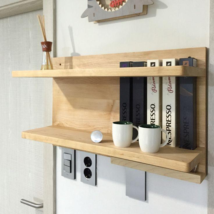 Nespresso Capsule Storage + Shelf