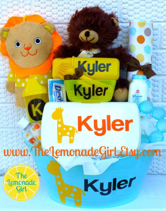 45 best personalized baby baskets images on pinterest baby personalized giraffe jungle theme baby shower giraffe baby basket new mom gift personalized negle Image collections
