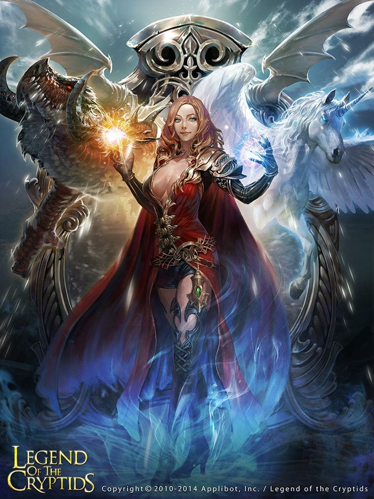 Storm Witch Fantasy Art