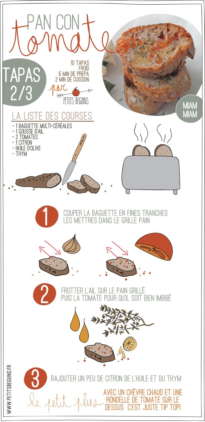 Tapas - Battle food #21 - Petits Béguins