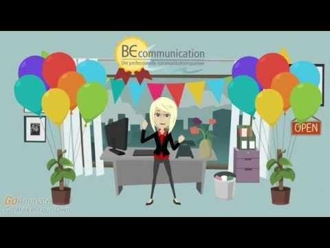 BE communication præsentation af virksomhed - formindsk omkostningerne, saml flere sprog samme sted - YouTube