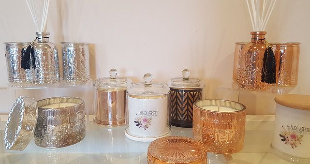luxury soy candles www.indi-spirit.com
