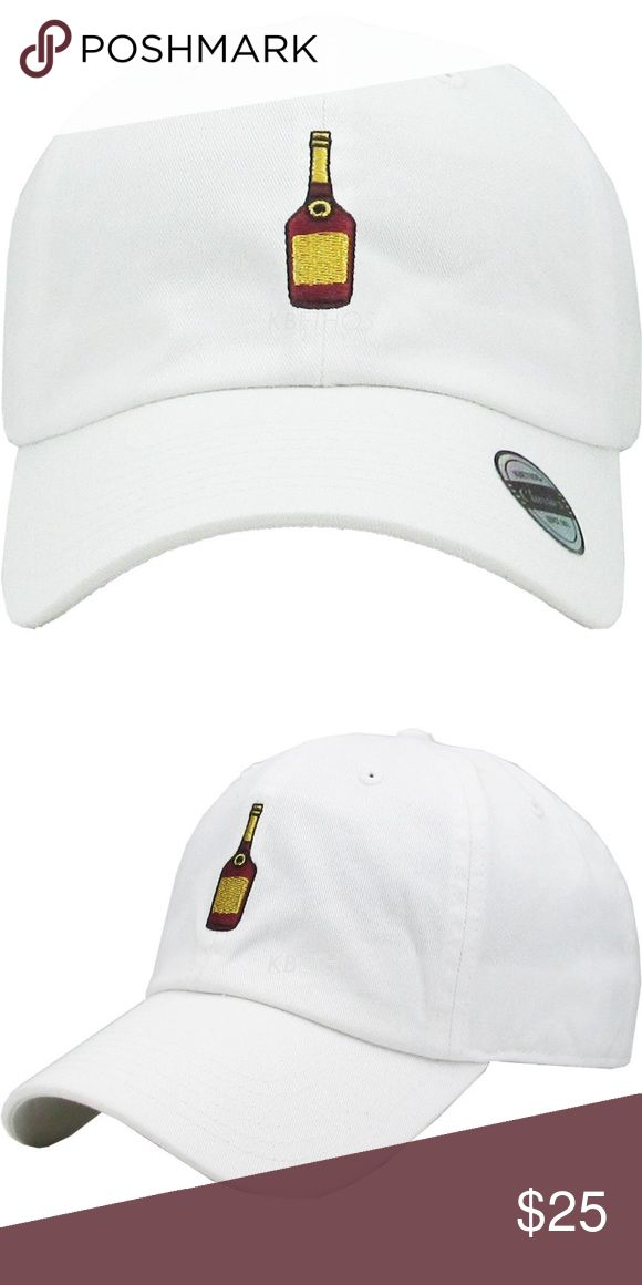 Hennessy Bottle Dad Hat Hennessy Bottle Dad Hat Accessories Hats