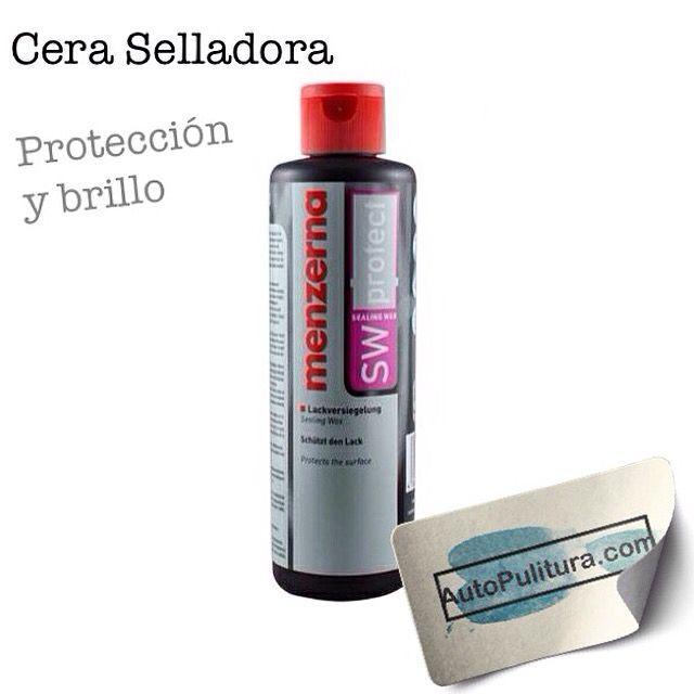 La Cera Selladora Menzerna Sealing Wax APO60 es una cera liquida fácil de usar que contiene carnauba y minerales que ayudan a eliminar pequeñas marcas o hologramas sobre la superficie de la pintura al igual que deja una capa protectora.