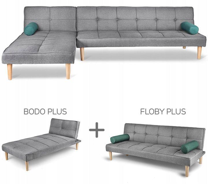 Zestaw Sofa Lezanka Floby I Bodo Marki Homekraft 7489466230 Allegro Pl Wiecej Niz Aukcje Sectional Sofa Sectional Couch Sofa