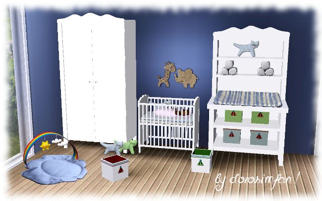 Nursery by dorosimfan1 Sims 3 Downloads CC Caboodle