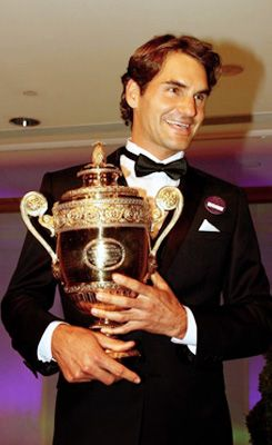 7th time champion roger federer wimbledon 2012
