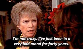 photo of ouiser boudreaux of steel magnolias   shirley maclaine, steel magnolias, bad mood, ouiser boudreaux ...
