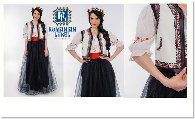 Fabulous waistcoat by #RomanianLabel
