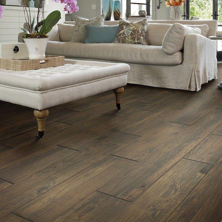 "Rio Grande 8"" Solid Hickory Hardwood Flooring in Waldron Trail"