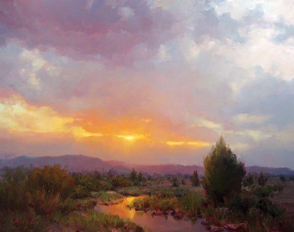 Becky Joy, Sunlight Reflection, oil, 24 x 30 | Fine Art ...