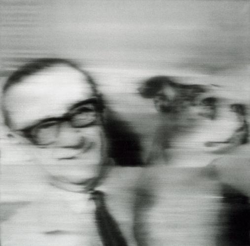 Gerhard Richter, Sammler mit Hund 1966