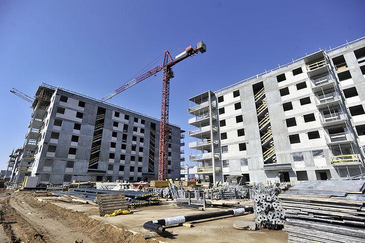budowa przy ul. Rayskiego na Bemowie
