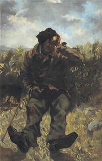 The Vagabond - Gustave Courbet