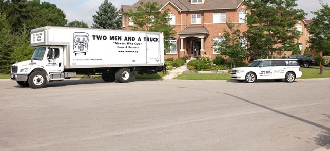 Barrie Movers TWO MEN AND A TRUCK Home Moving & Business