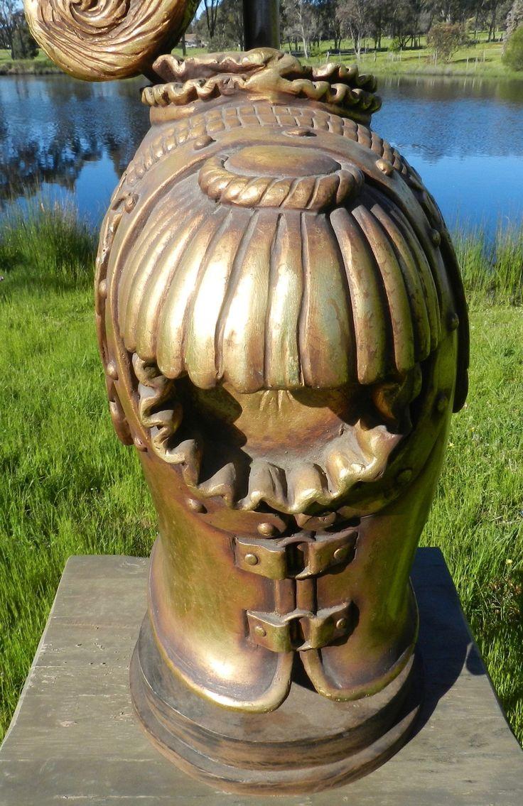 Roman Armour Fibreglass Shop Display Or Stage Prop