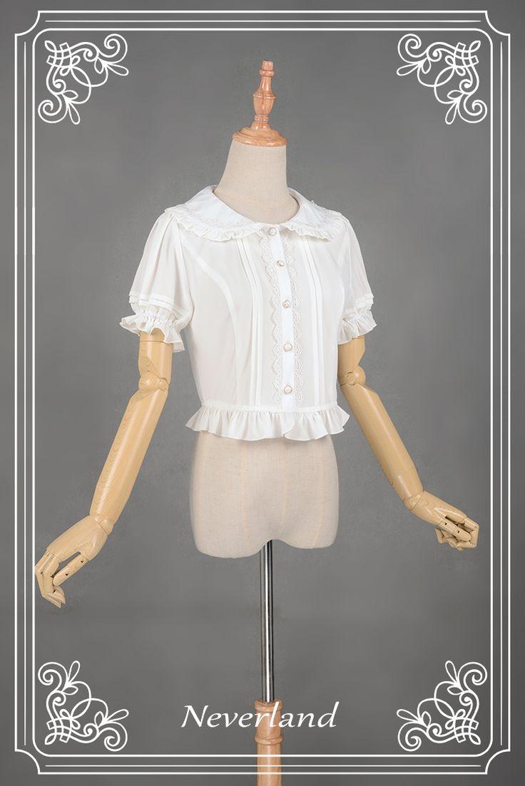 织锦园 Lolita雪纺蕾丝镂空花边日常百搭可爱气质小开衫-淘宝网全球站