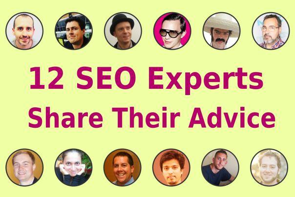 SEO Experts share their advice