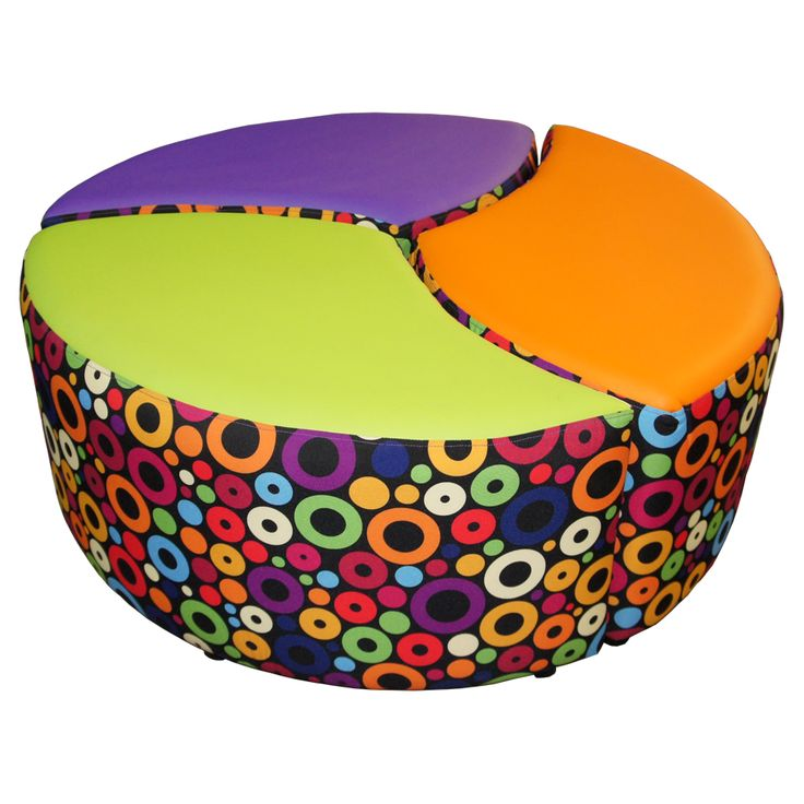 School Library Furniture: Petal Seating Set