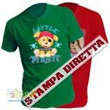 Magliette personalizzate per adulto del tuo colore preferito e stampate con la tua foto o il tuo logo