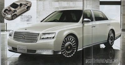 日本自動車デザインコーナー 「Japanese Car Design Corner」: New Toyota Century to be introduced…