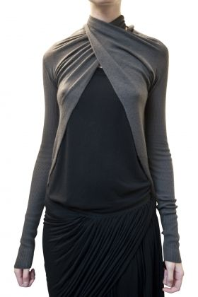 Genius cardigan by Rick Owens (my love)