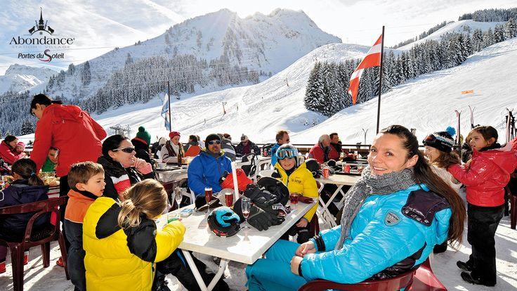Domaine skiable de l'Essert - restaurant d'altitude au pied des pistes
