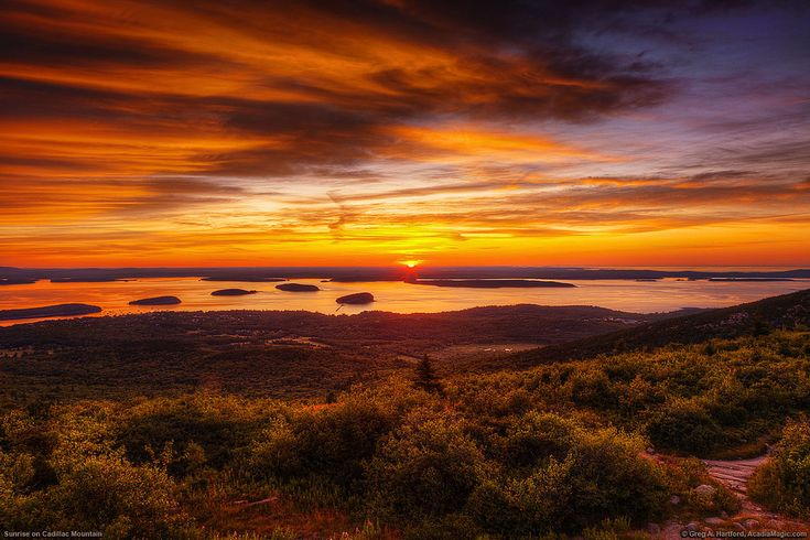 cadillac mountain sunrise by greg from maine the great outdoors. Cars Review. Best American Auto & Cars Review