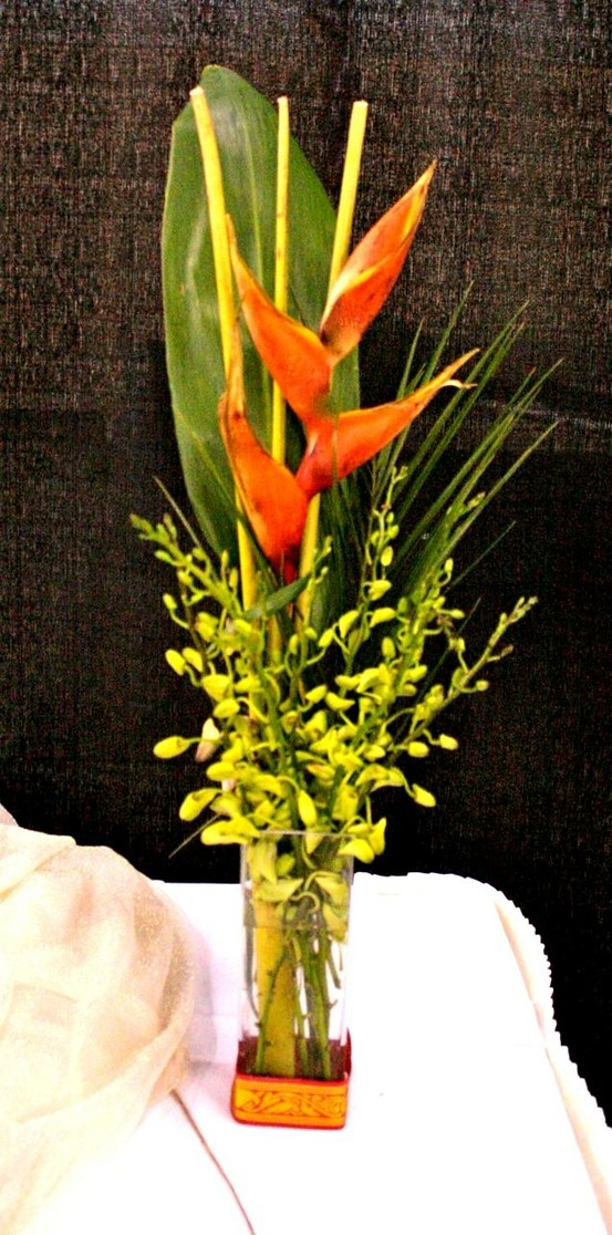 Flower Vixens Asian Inspired Orchid Bird Of Paradise Wedding 2017 Louisville