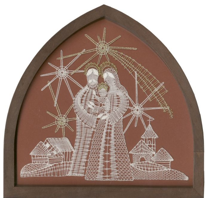 Folk artistic creation - Bobbin lace http://www.luta.cz/palickovana-krajka-988