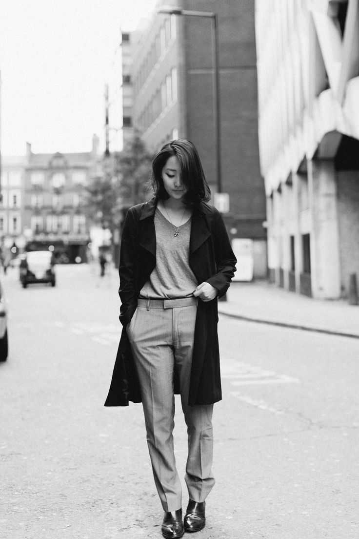 Shini from Park & Cube pulling off the chic suit look beautifully!